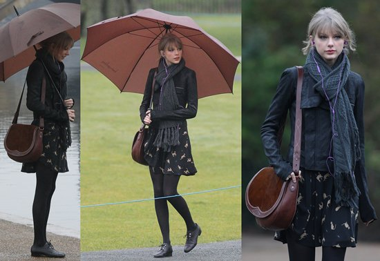 what-lizzy-loves-how-to-style-brogues-dress-taylor-swift