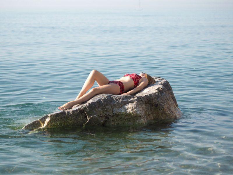 what-lizzy-loves-over-40-blogger-red-leopard-print-halter-neck-bikini