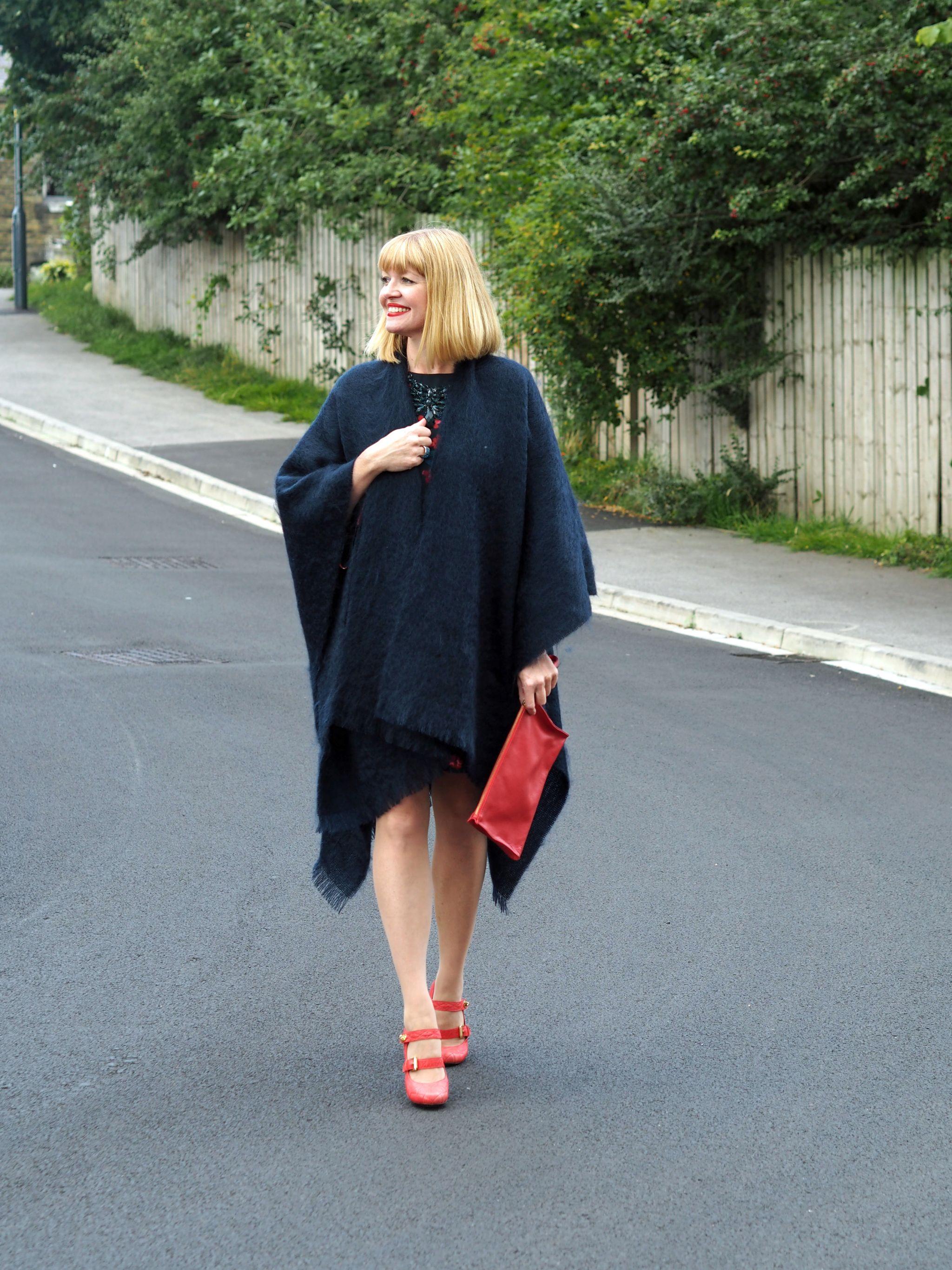 what-lizzy-loves-desk-dinner-dress-hobbs-mulberry-shoes-navy-mohair-serape-wrap
