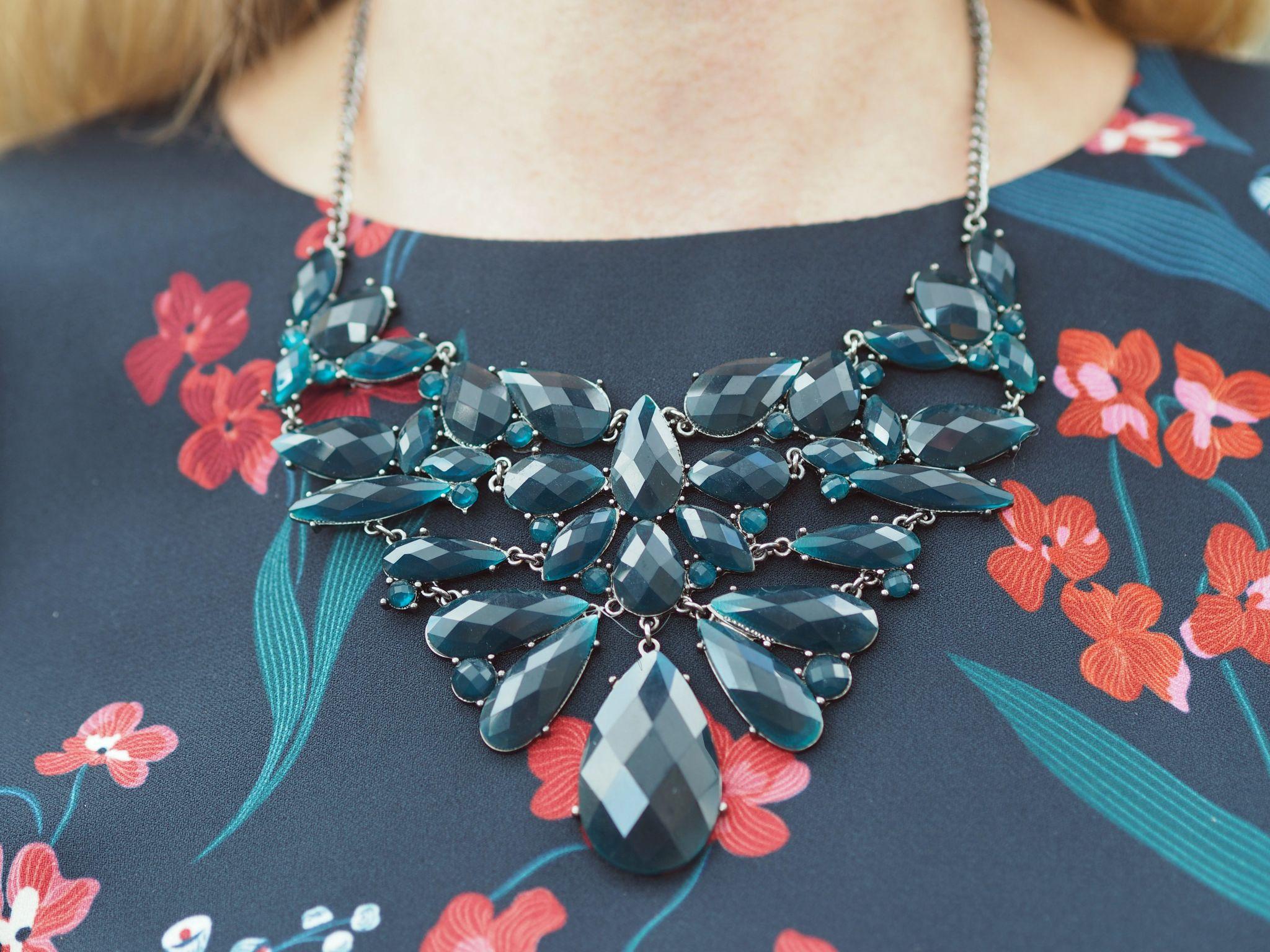 what-lizzy-loves-desk-dinner-dress-hobbs-statement-necklace