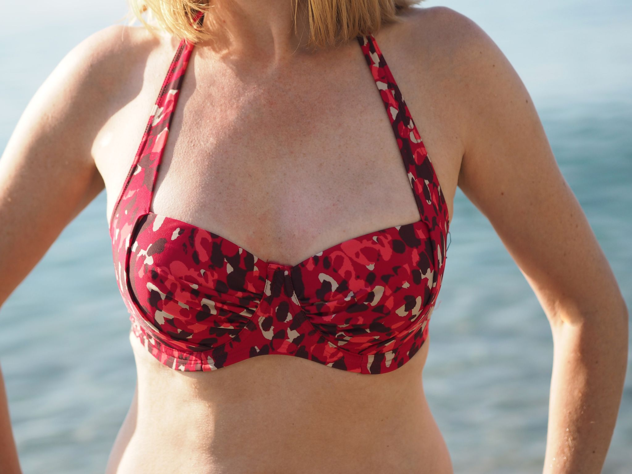 what-lizzy-loves-red-halter-neck-leopard-print-bikini-top-over40-nerja-spain