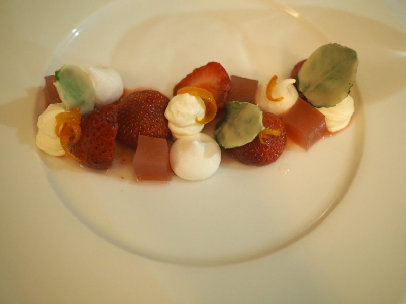 what lizzy loves bank House Hotel review meringue dessert