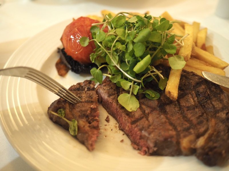 what lizzy loves bank House Hotel review steak