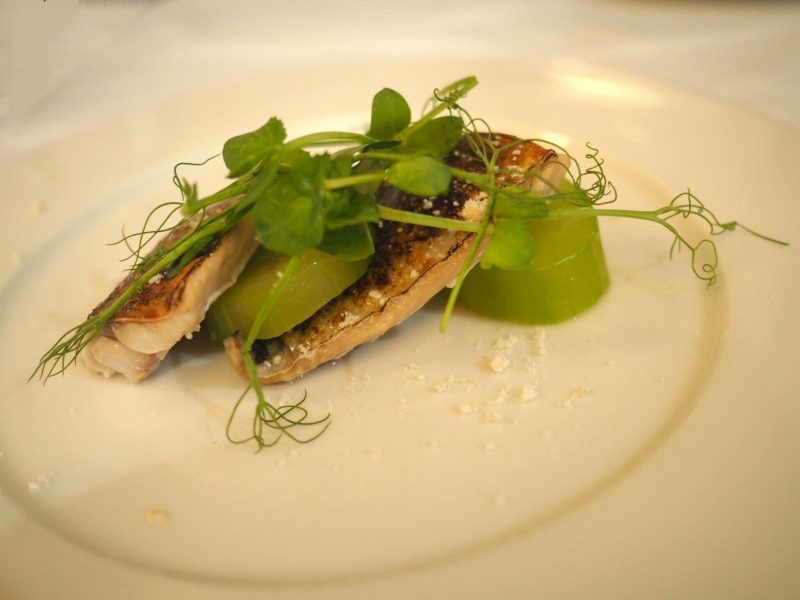 what lizzy loves bank House Hotel review starters-mackerel