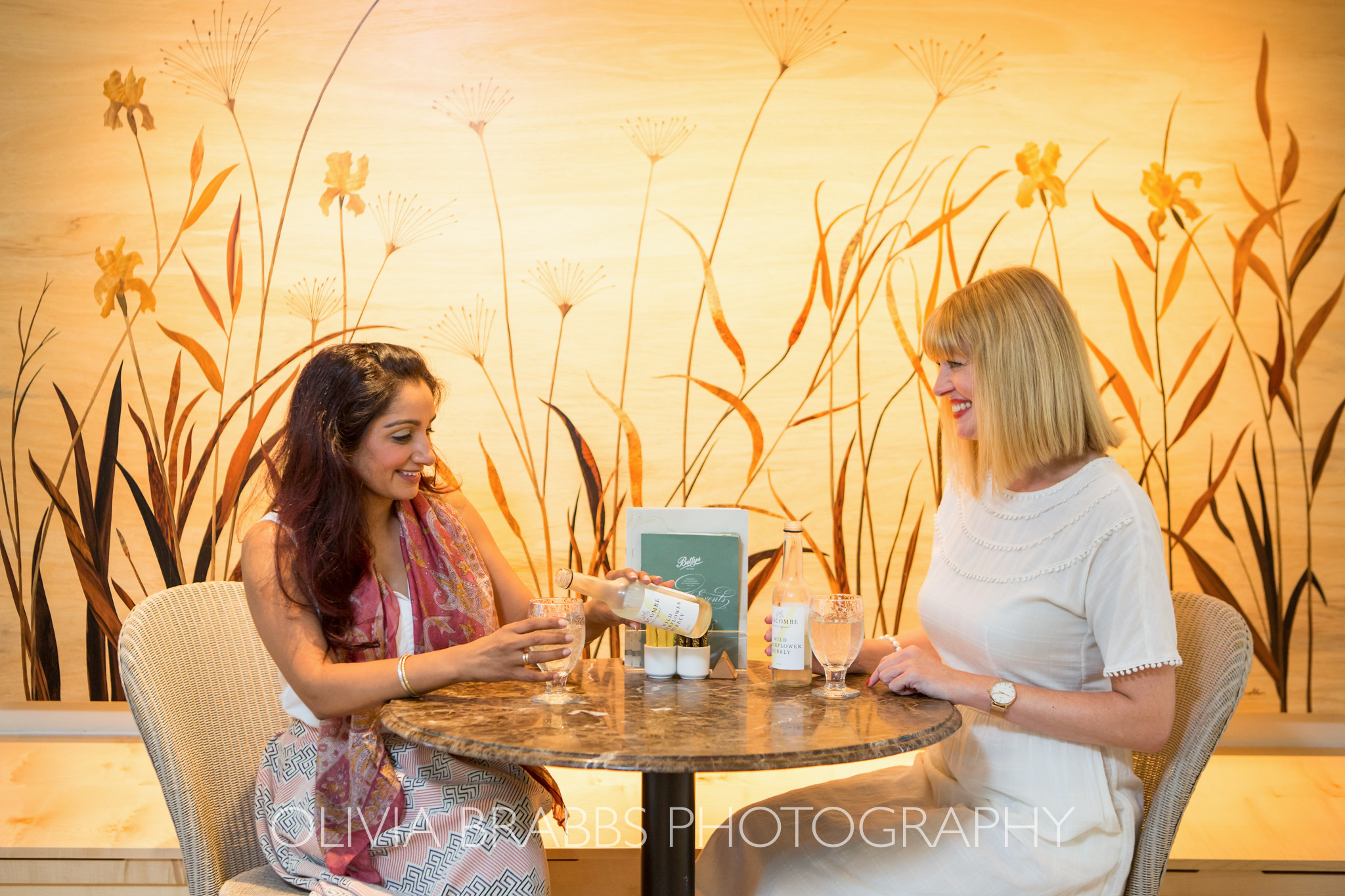 what lizzy loves bettys tearoom photoshoot tea