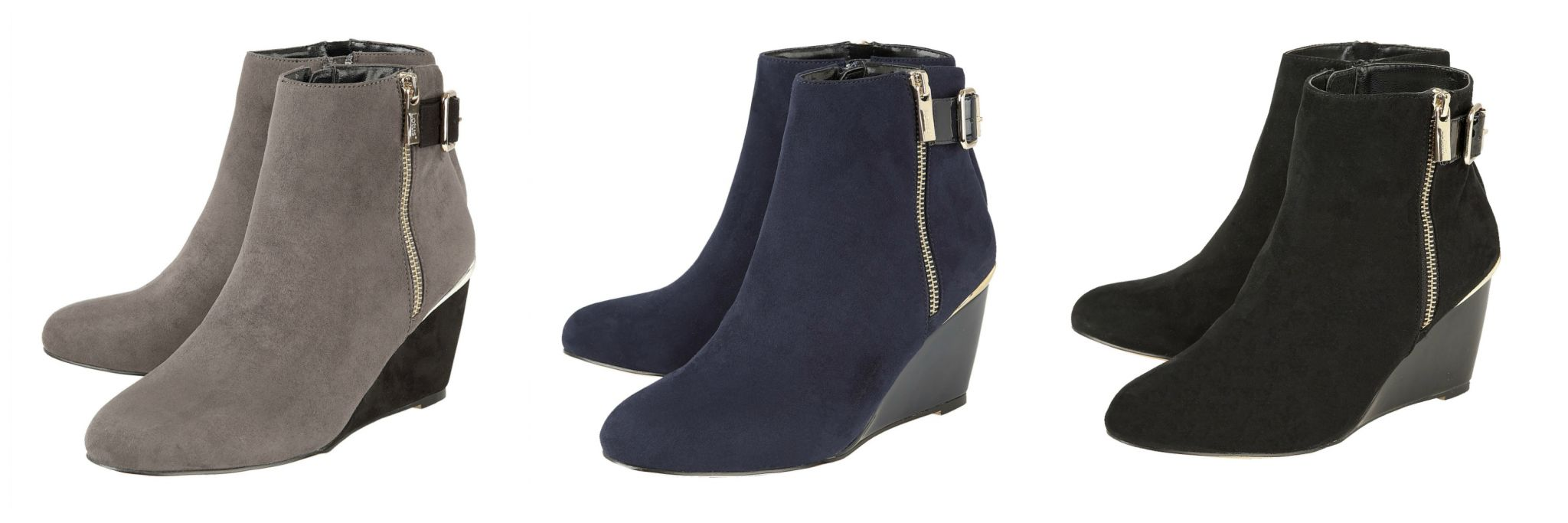 what-lizzy-loves-how-to-style-high-heeled-wedge-ankle-boots-navy-black-grey-Cassia-lotus
