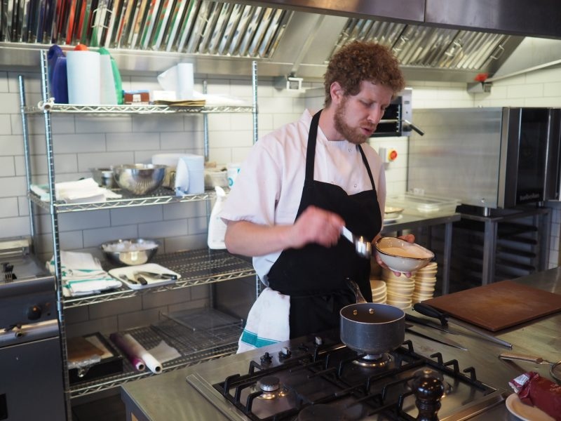 what-lizzy-loves-River-Cottage-cookery-lesson-chef-panna-cotta