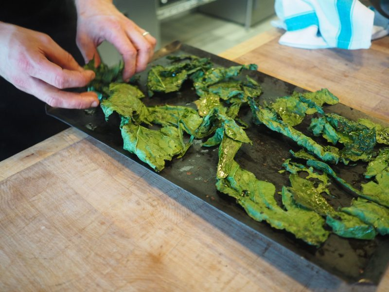 what-lizzy-loves-River-Cottage-cookery-lesson-chef-crispy-kale