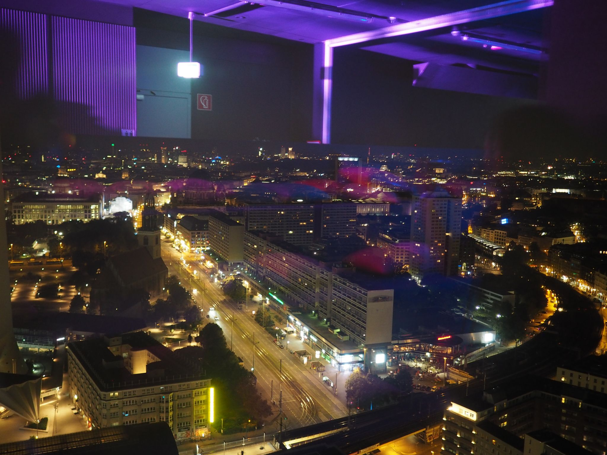 what lizzy loves zeiss future of optics berlin after party menu view from florr 37 Park Inn Alexanderplatz