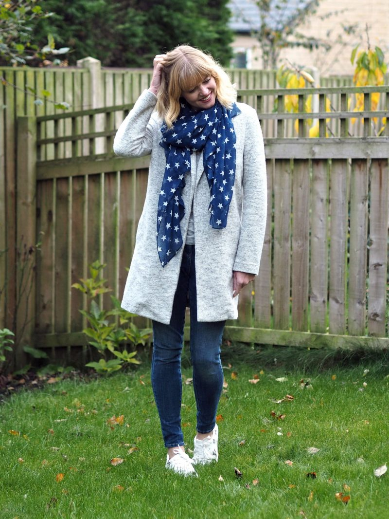 A Stylish Cosy Autumn Outfit Featuring A Coatigan And A Constellation Of Stars