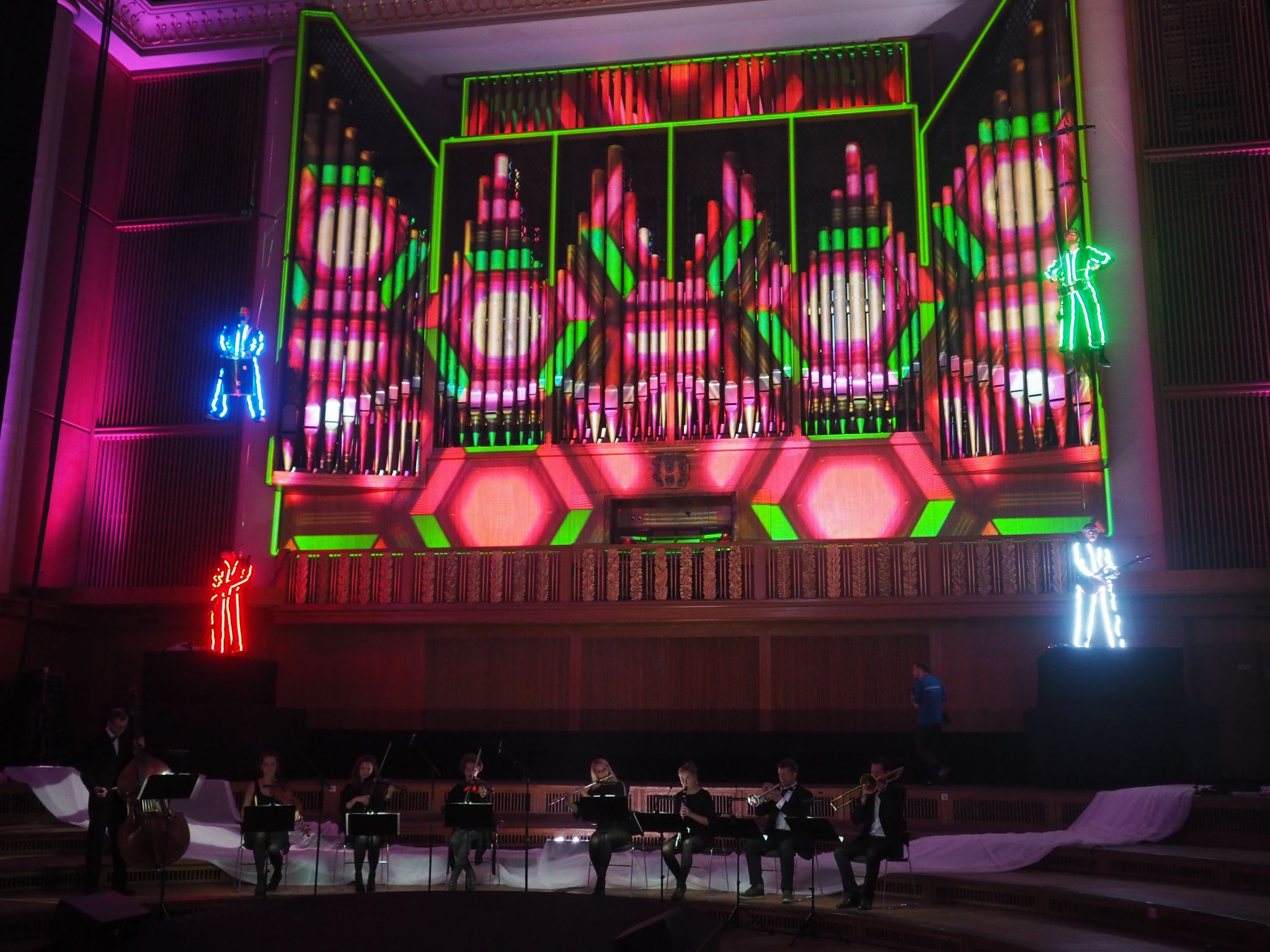 Zeiss future of optice Berlin Funkhaus music and light show