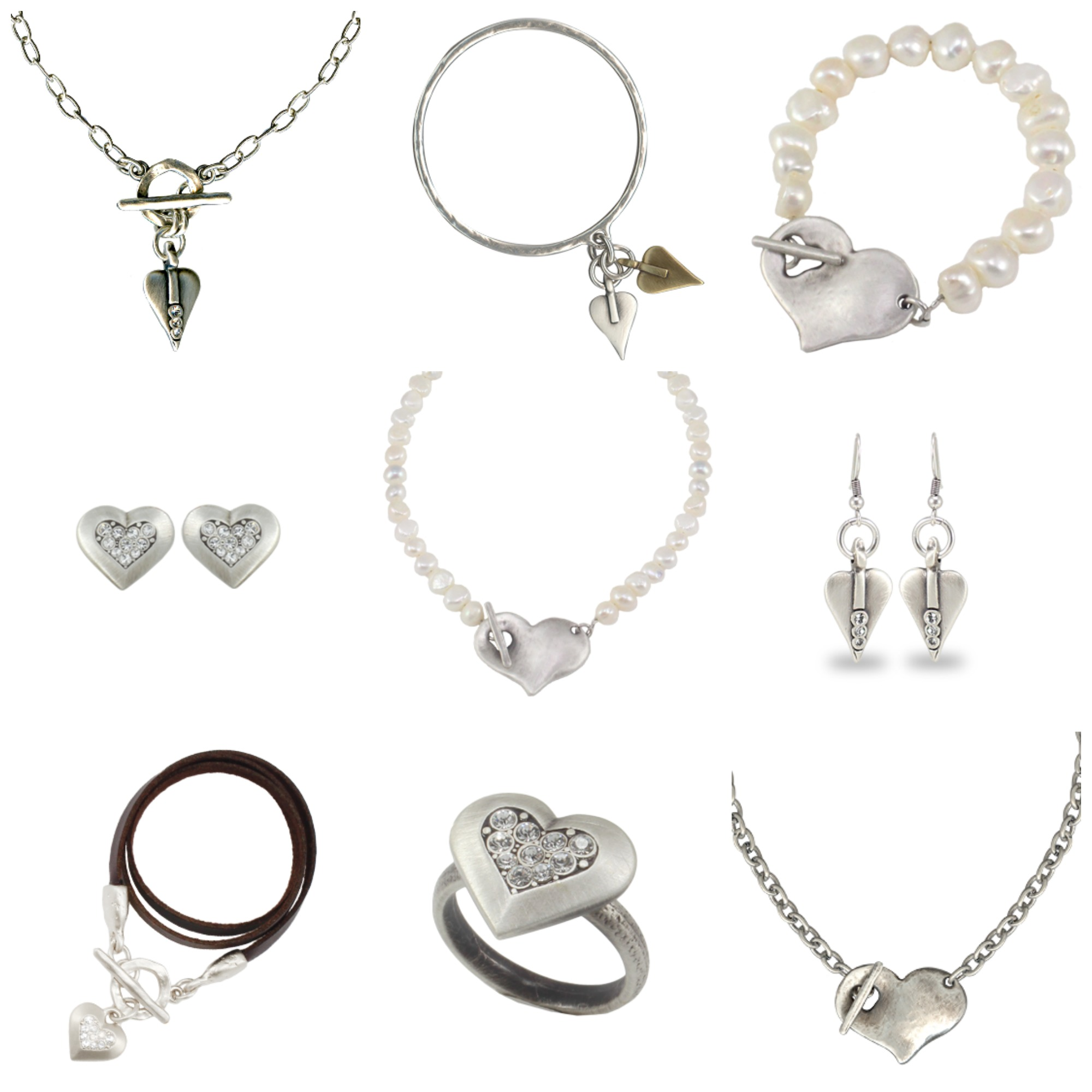 what Lizzy Loves danon heart jewellery