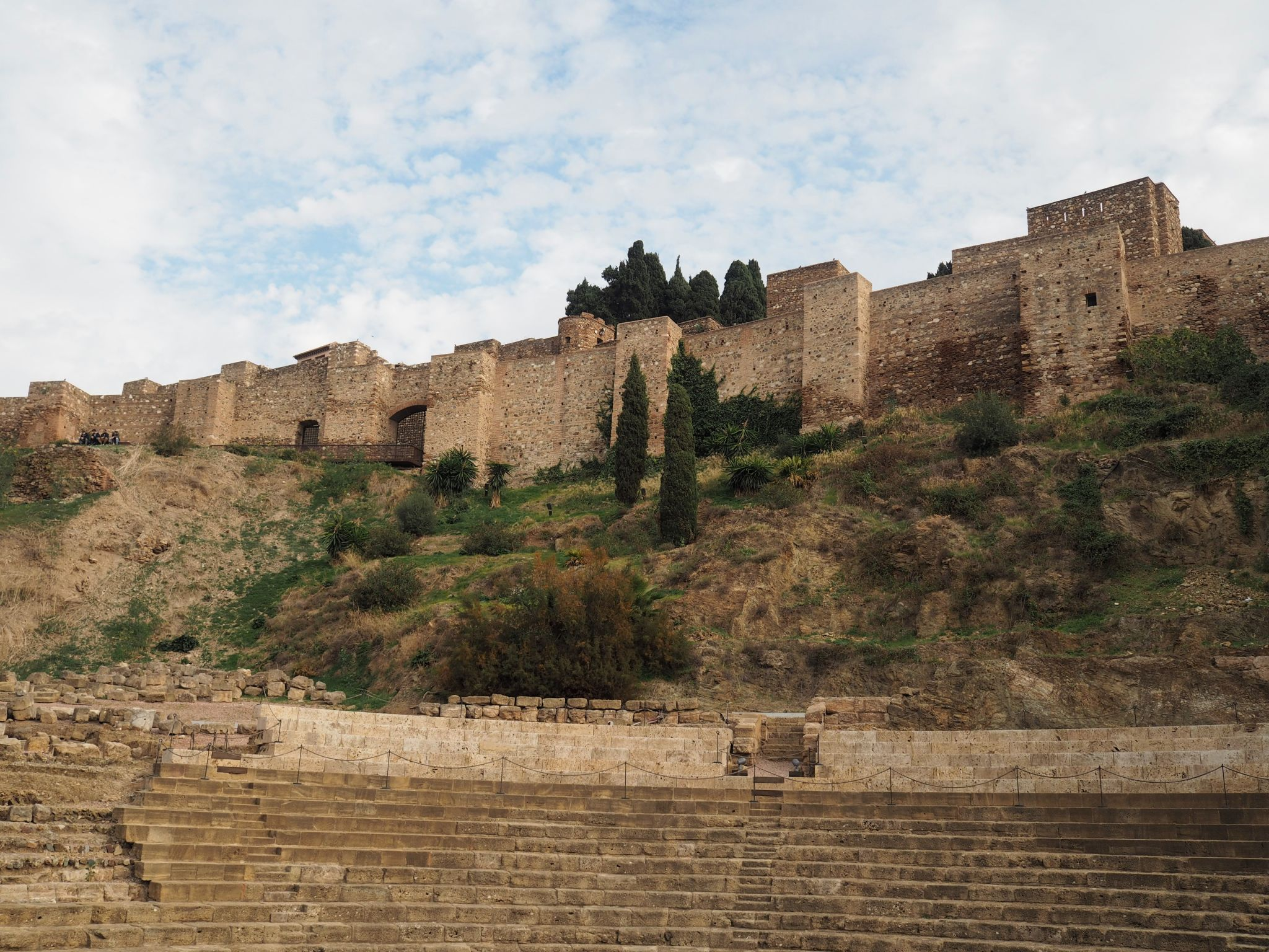 What Lizzy Loves Malaga in November Roman amphitheatre