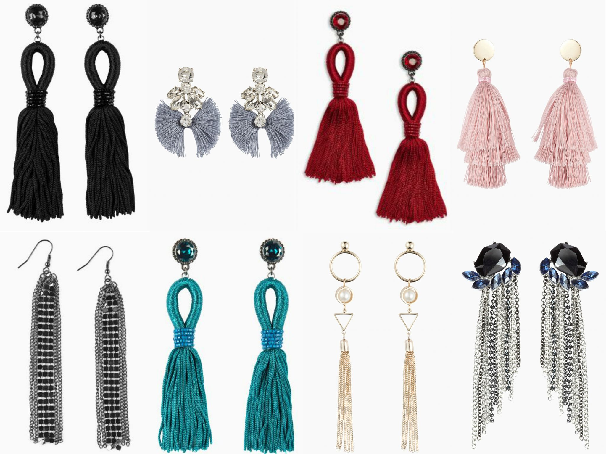 what lizzy loves tassel earrings