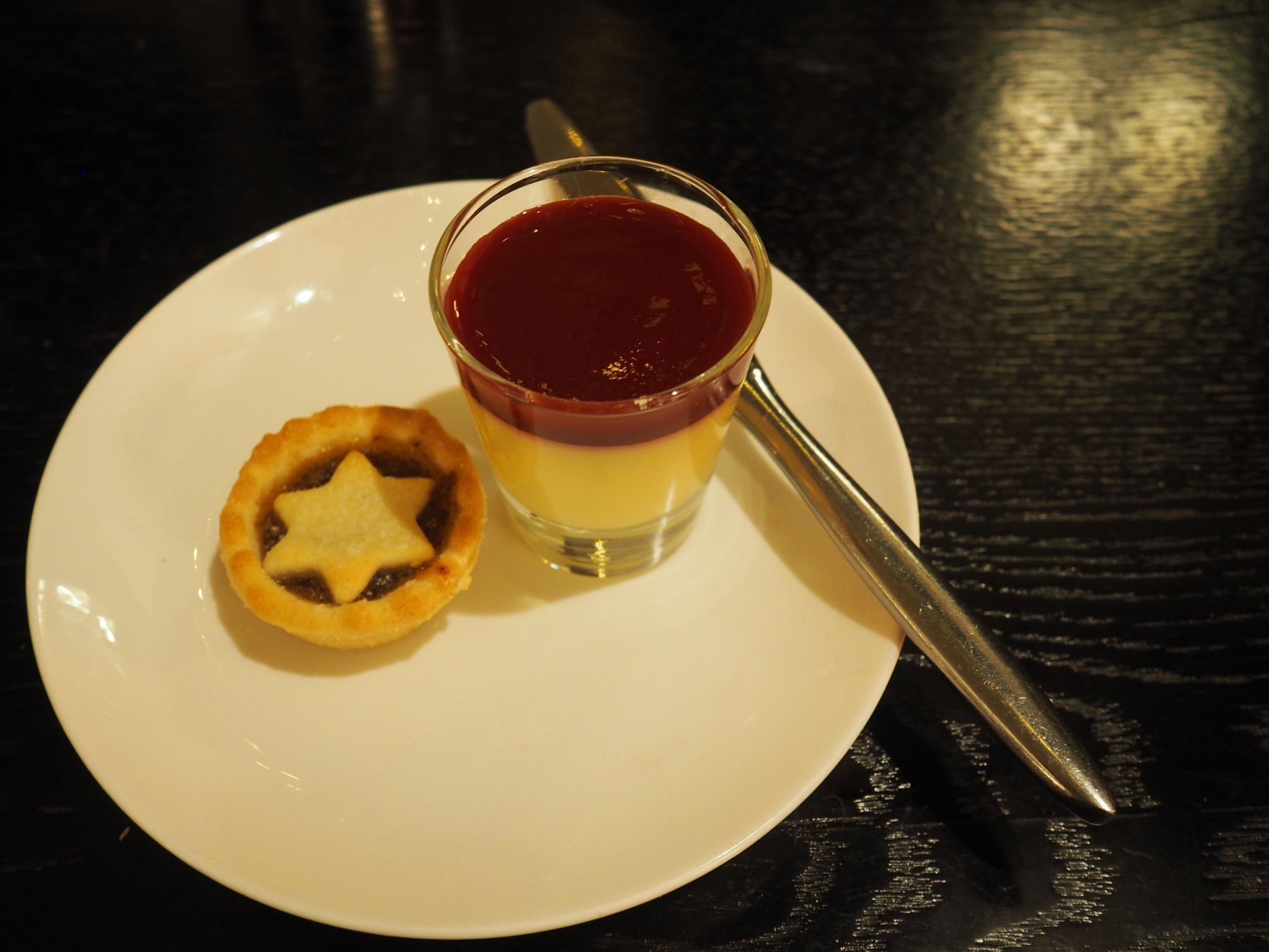 what Lizzy Loves festive afternoon tea stirk house mince pies lemon posset