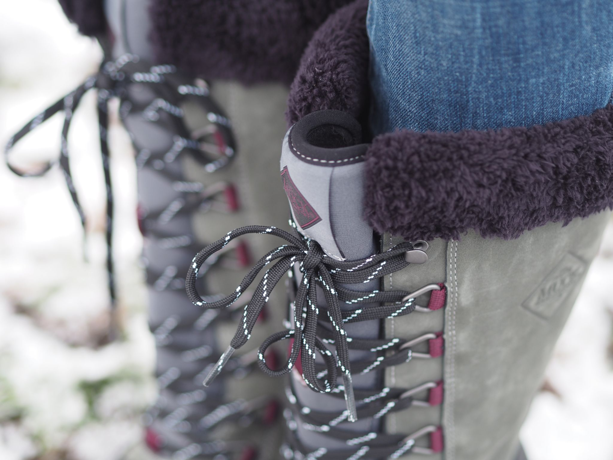 what lizzy loves keep warm look stylish muck boots warm snow boots fleece lined