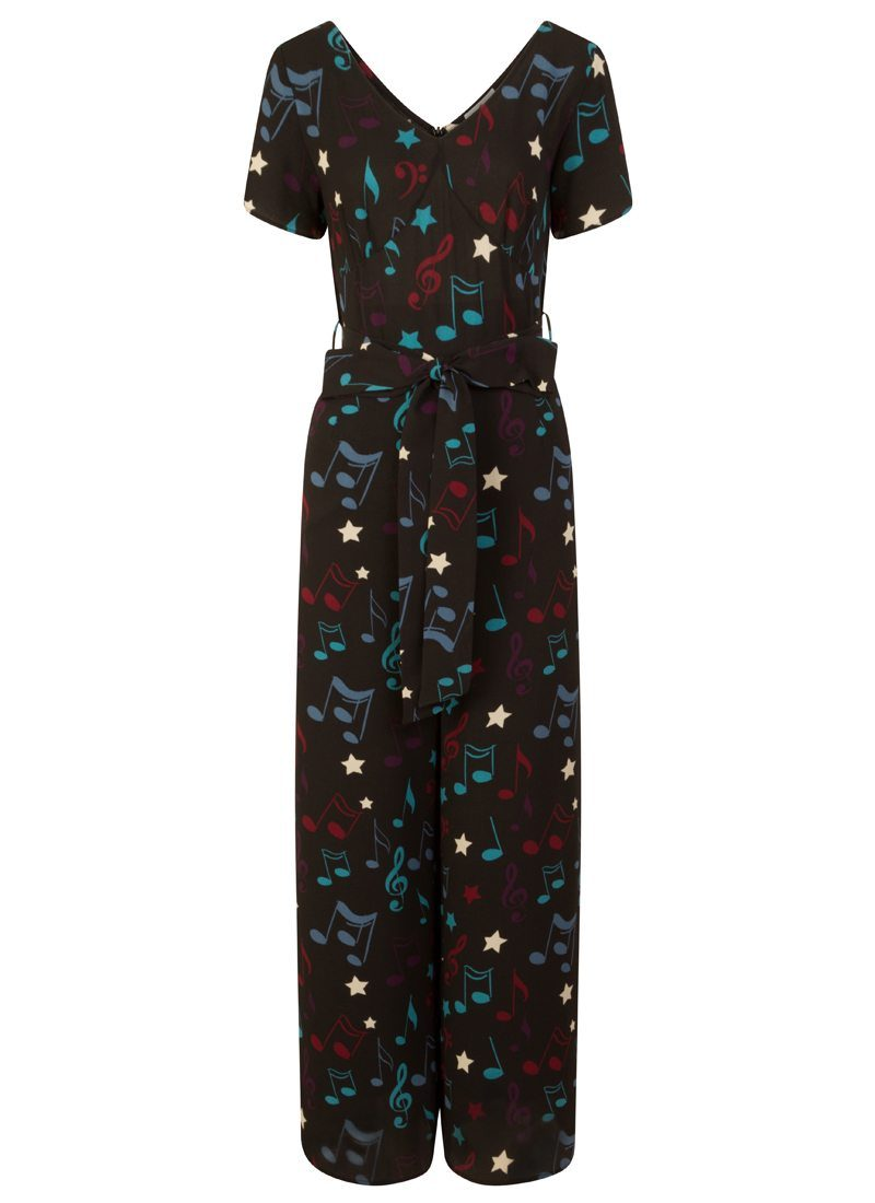 what lizzy loves musical note jumpsuit