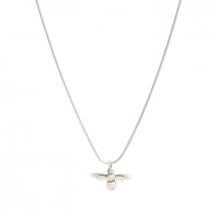 what-lizzy-loves-boutique-danon-silver-honey-bee-necklace
