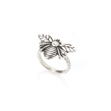 Swarovski set bee ring