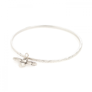 what-izzy-loves-boutique-Danon-silver-bee-bangle