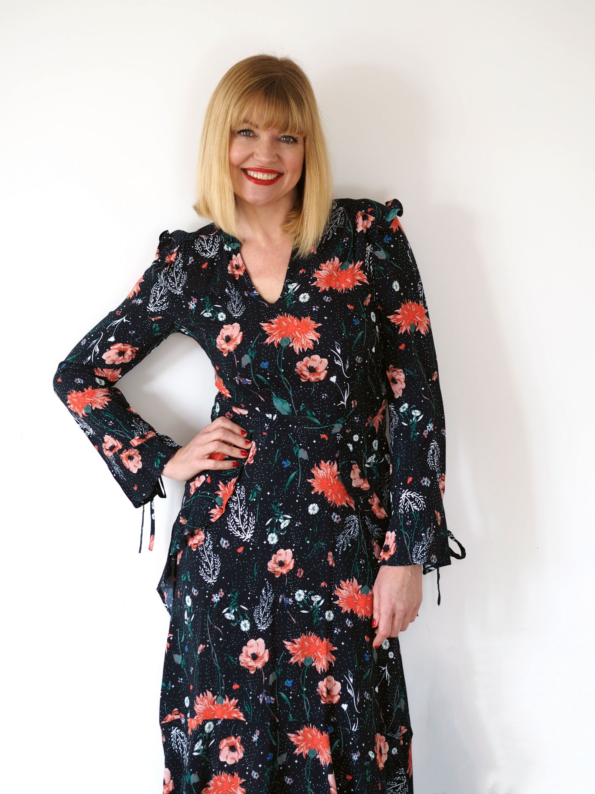 what-lizzy-loves-floral-midi-dress-Nine-Debenhams