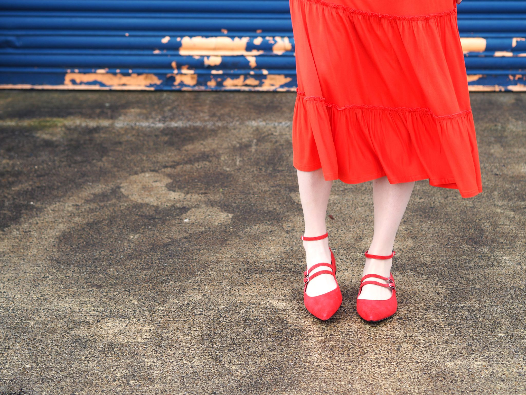 what-lizzy-loves-red-strappy-flat-shoes