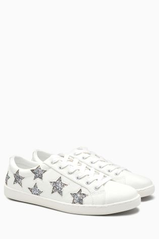 Glitter star trainers