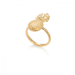 danon gold pineapple ring
