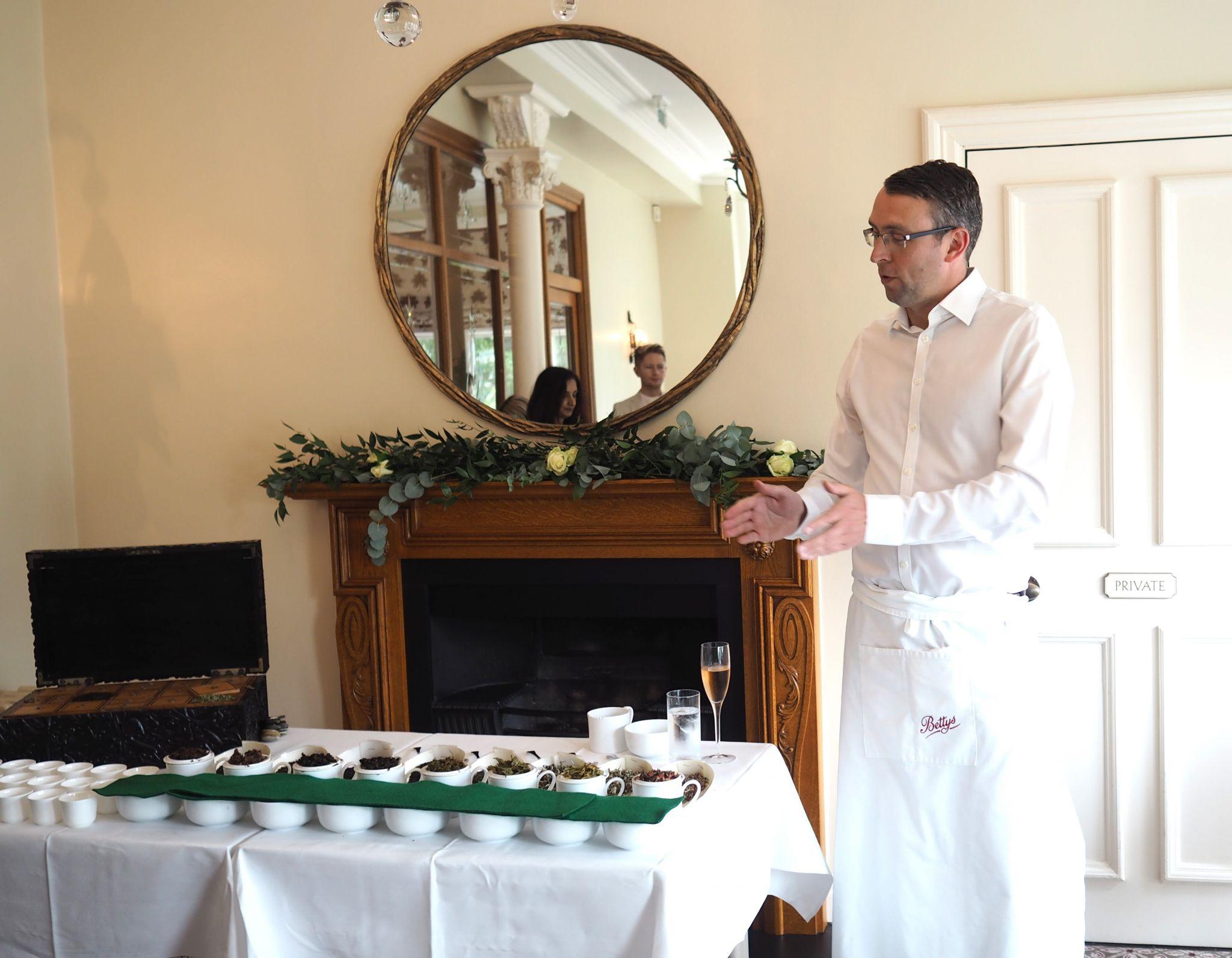 afternoon tea at bettys tea talk