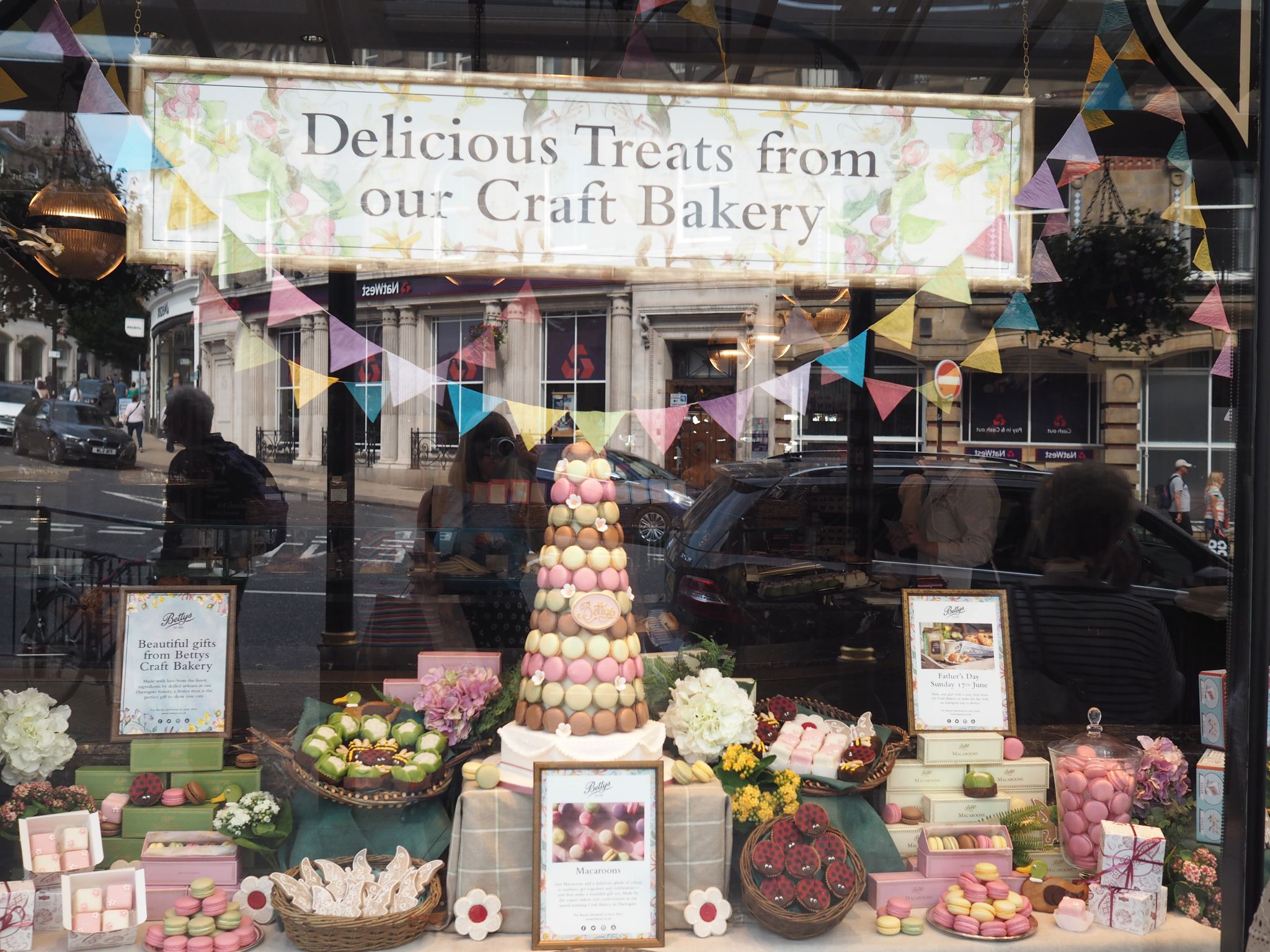 Bettys Harrogate window