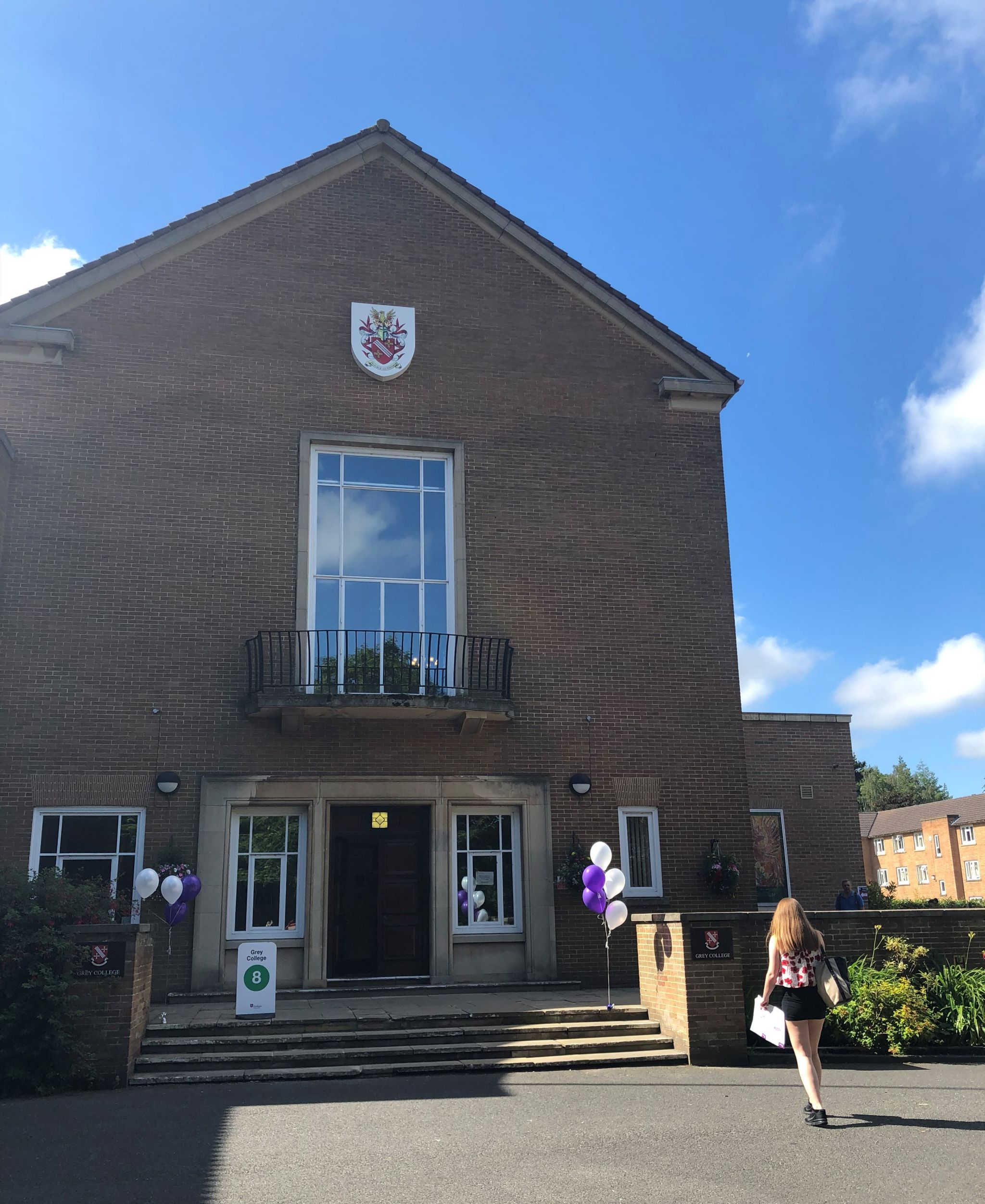 Durham university open days grey college