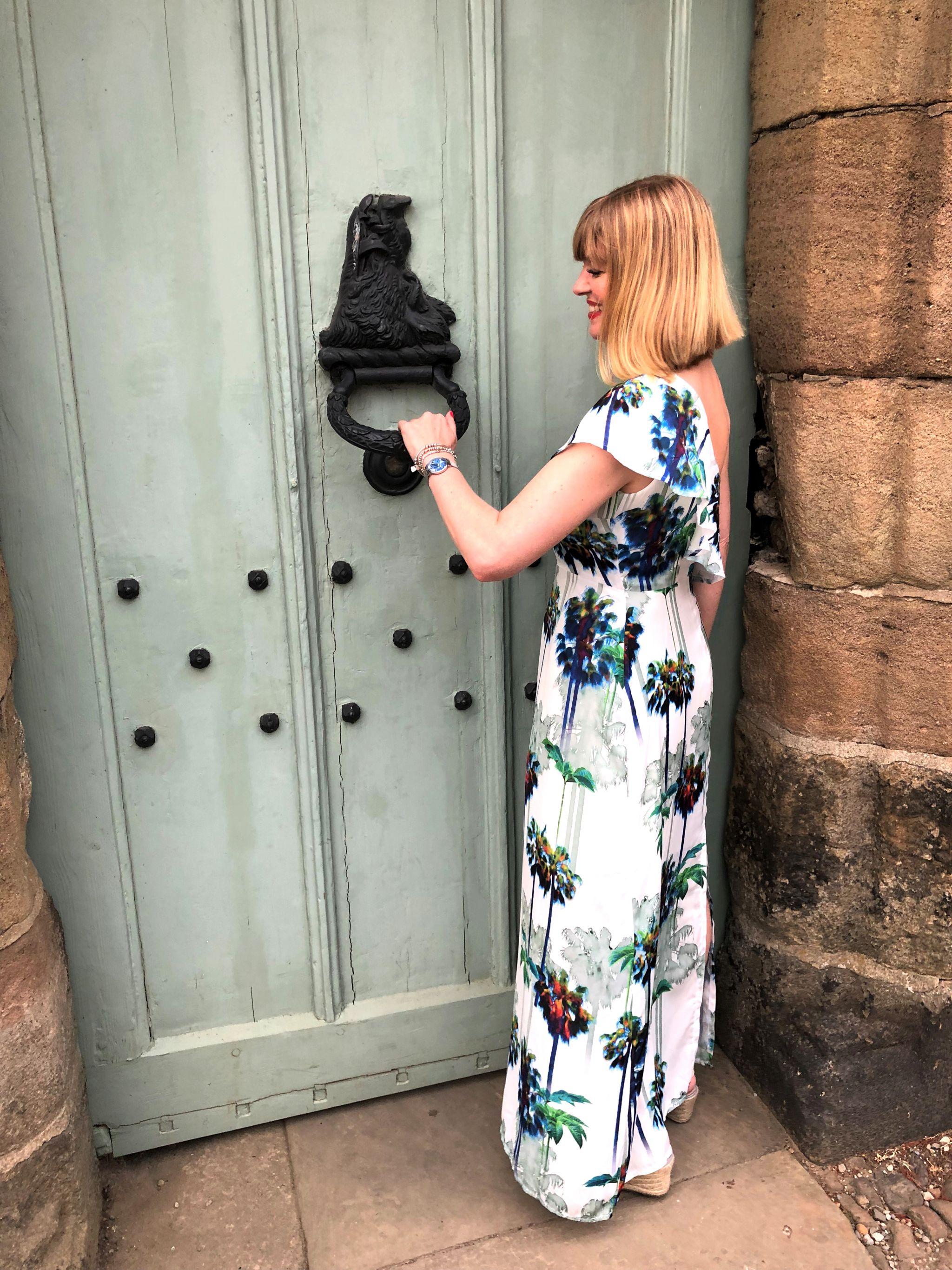 What Lizzy Loves Ripley Castle knocker