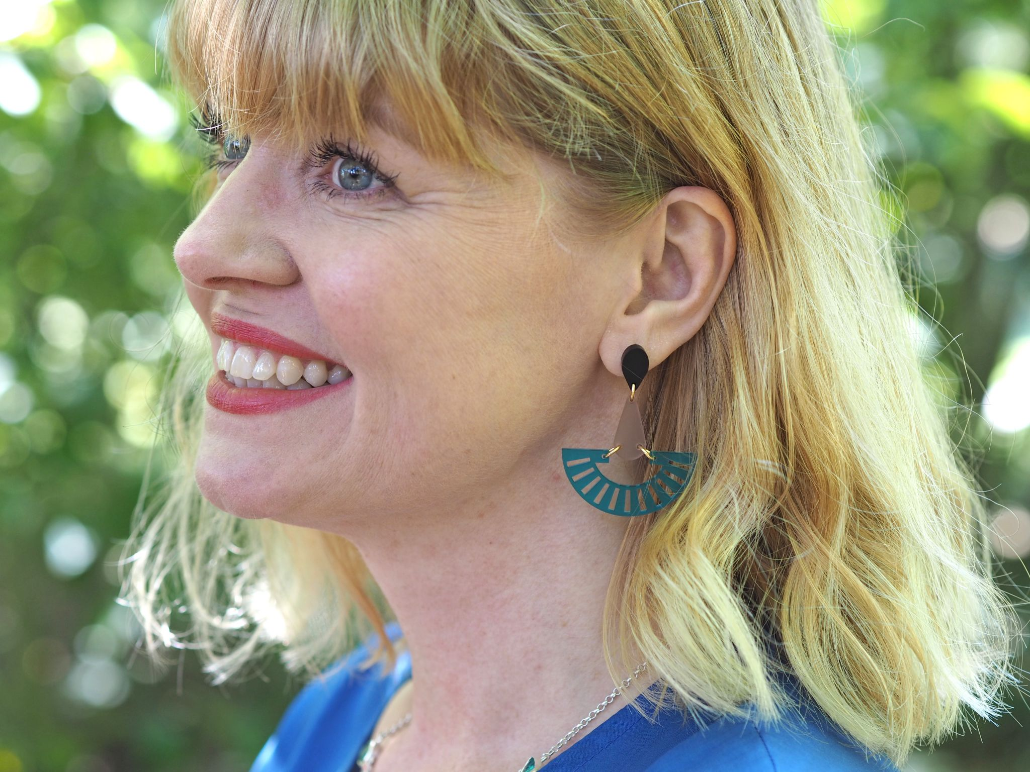 what lizzy loves toolally azure fandango earrings
