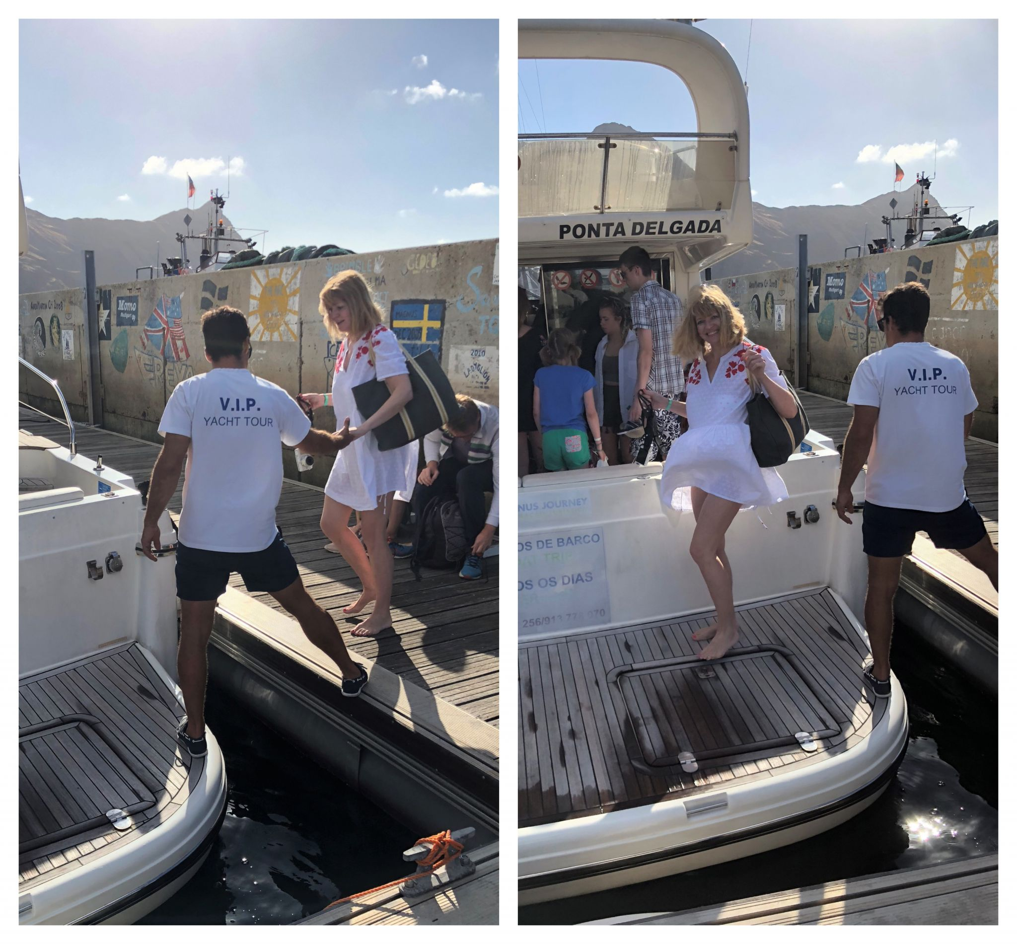 What Lizzy Loves Porto Santo yacht trip
