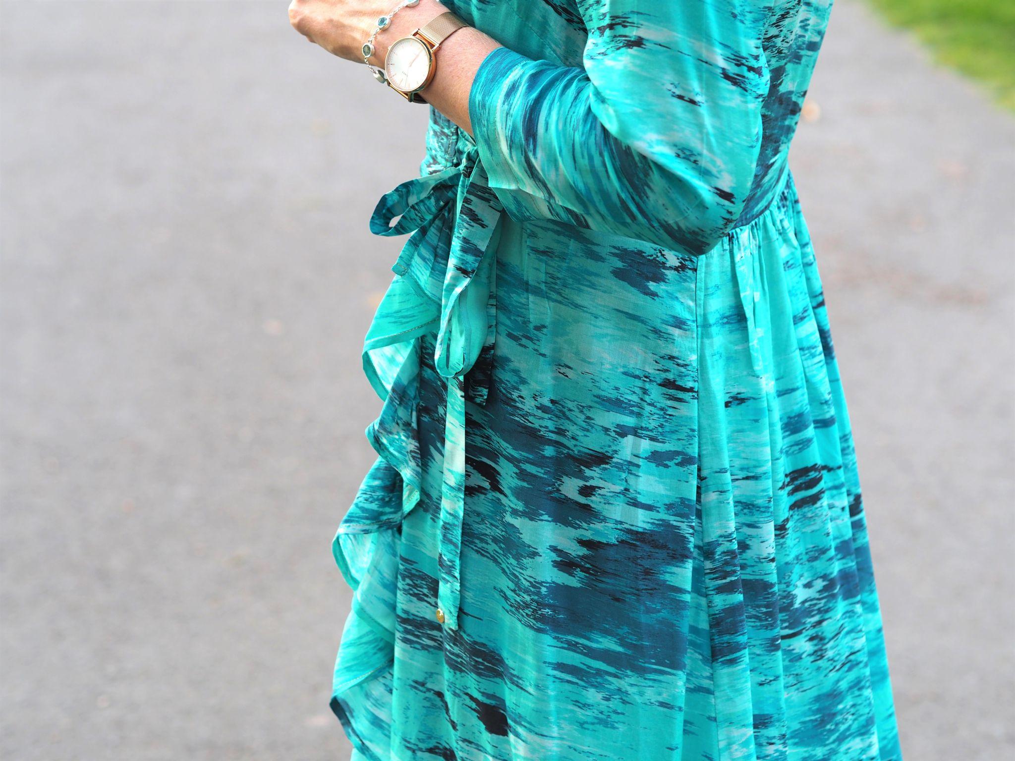 what lizzy loves sophia alexia wrap dress