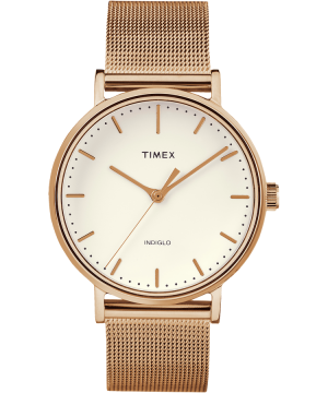 Timex Fairfield Watch, Rose Gold