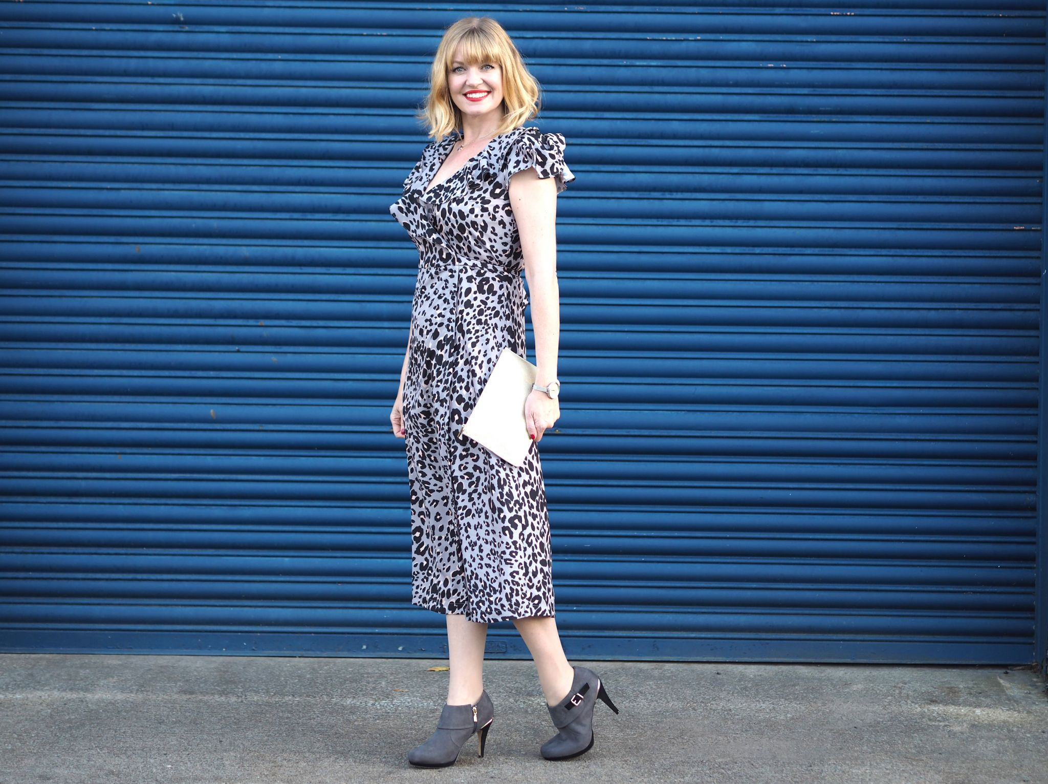 Good as Gold puchh Katie Loxton leopard dress