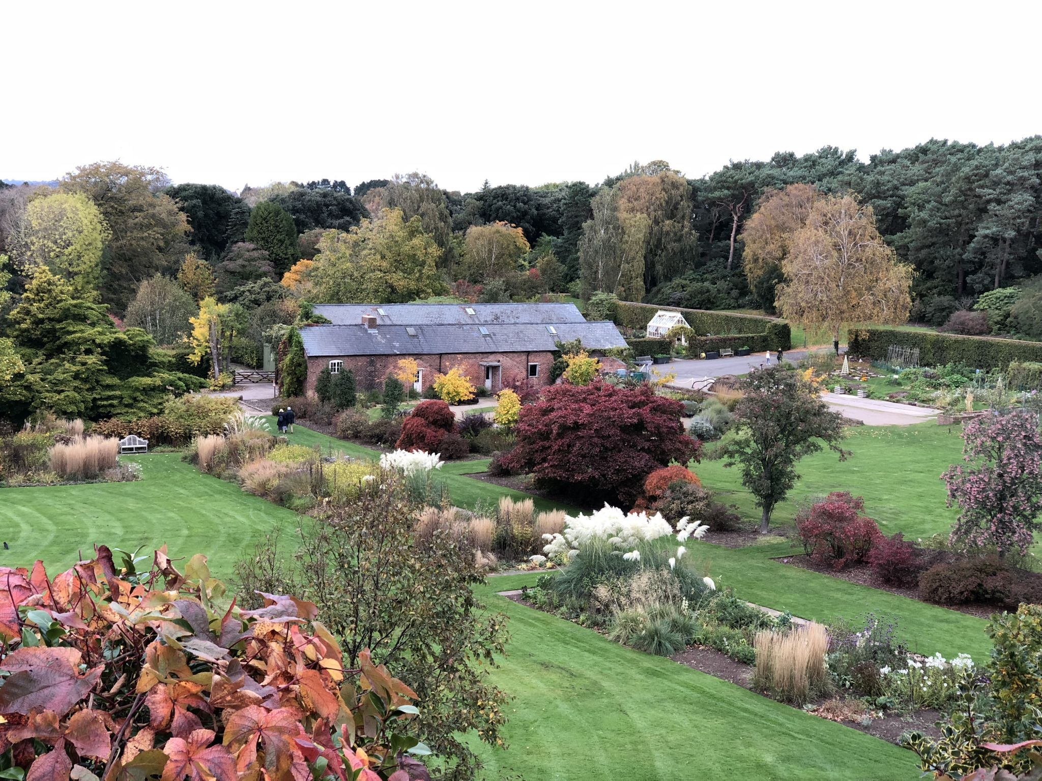 Ness gardens in autumn