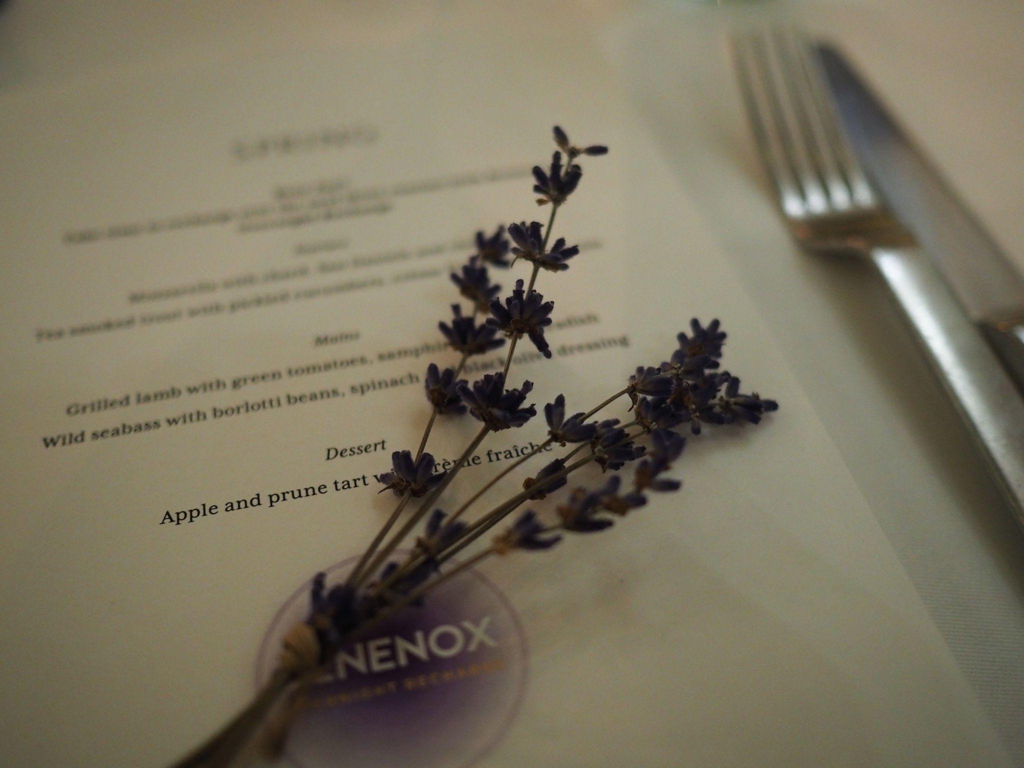 Somerset House menu