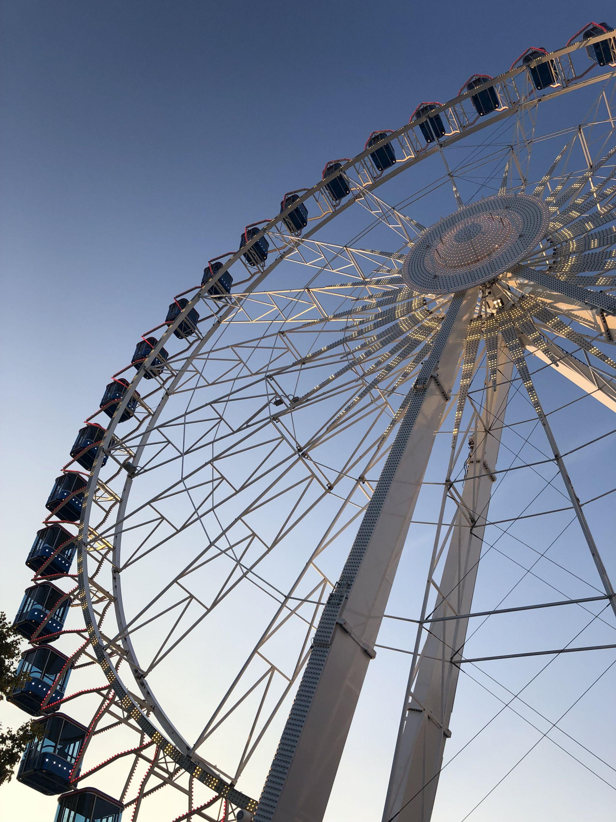 Stuttgart beer festival big wheel