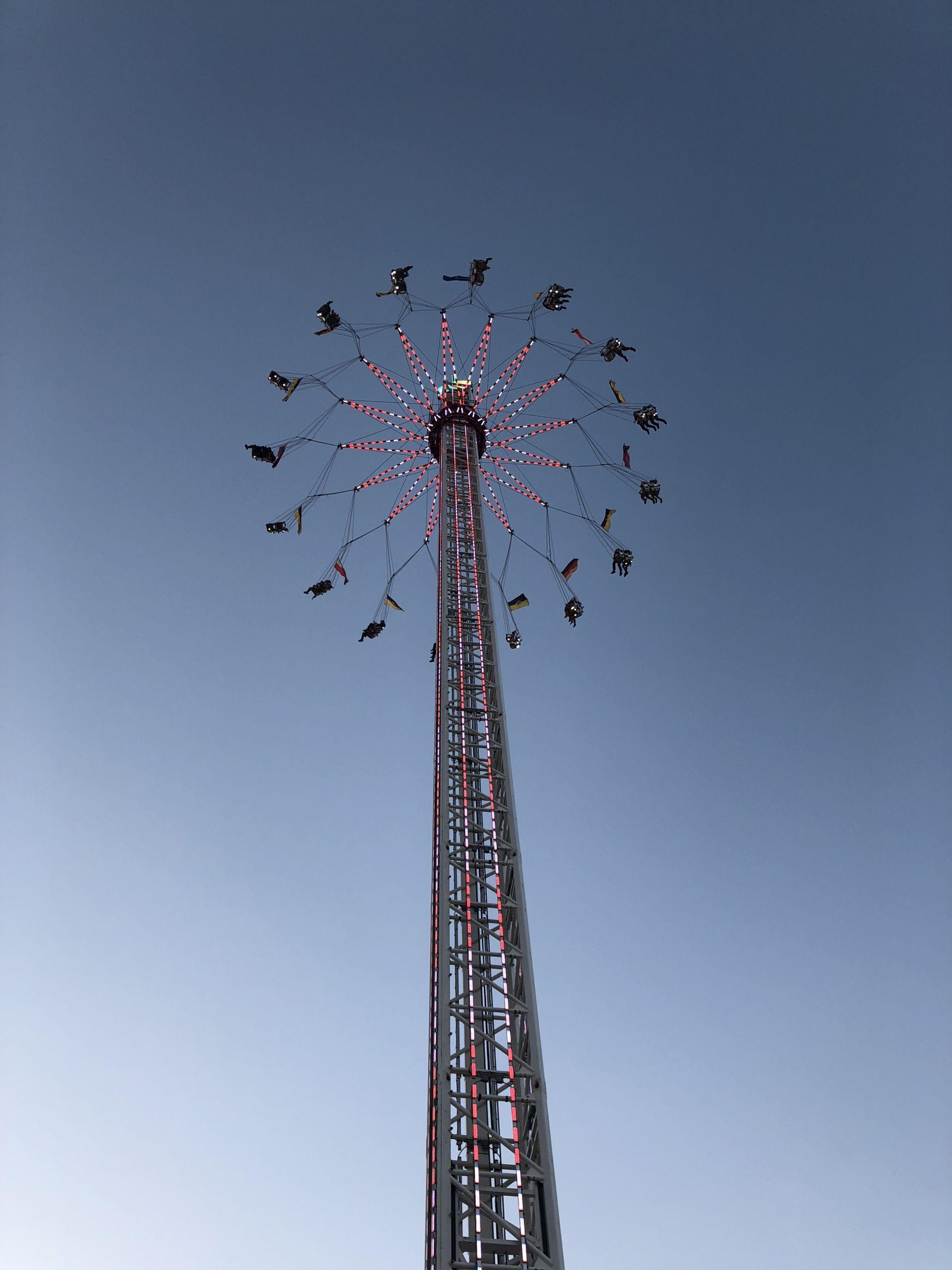 Stuttgart beer festival high tower
