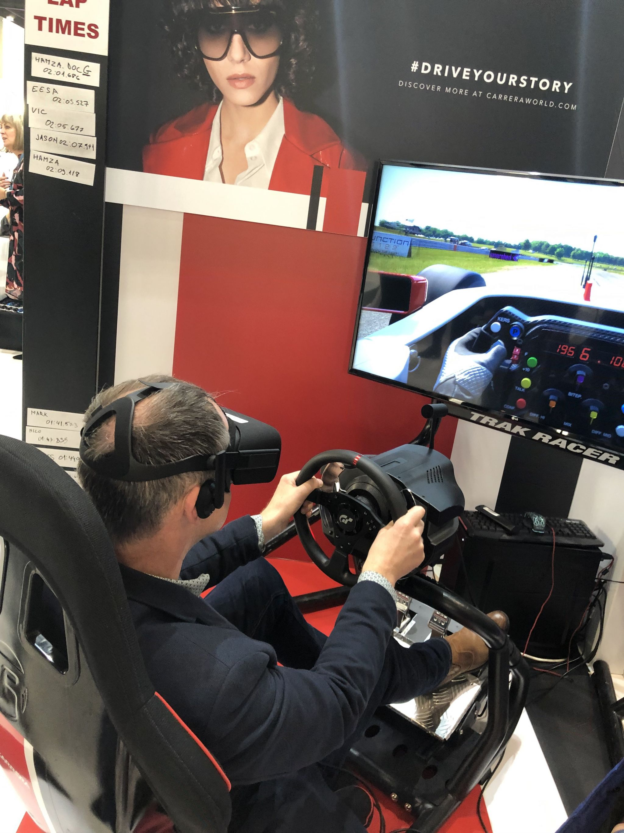 100% Optical 2019 Carrera virtual reality race car