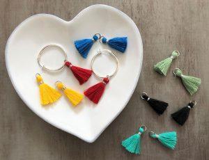 spring updates tassel earrings