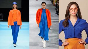 orange and blue complementary colours
