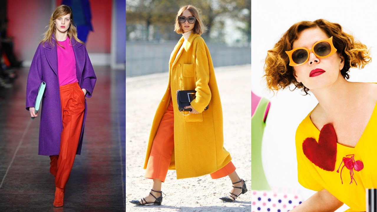 analogous colour outfits