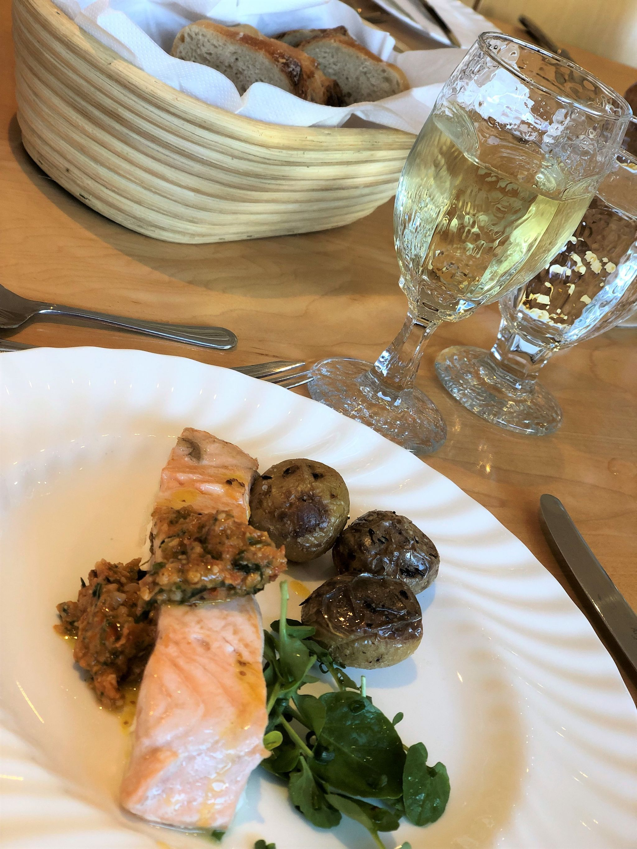 Bettys cookery school review lunch