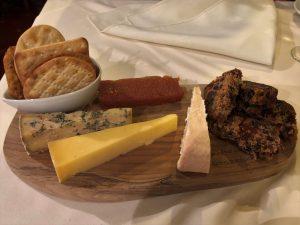 la caveau skipton tasting menu cheese from the courtyard dairy