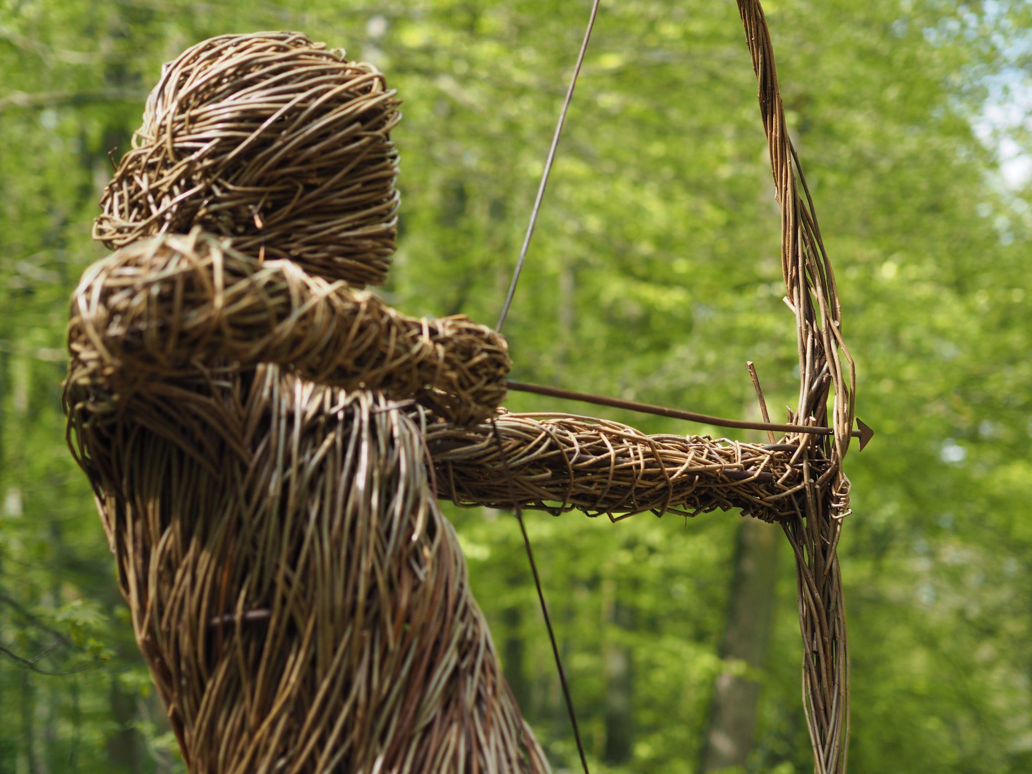 Skipton Castle Woods Spirit Of The Medieval Archer
