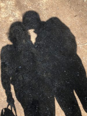 Image showing a shadow of a close couple