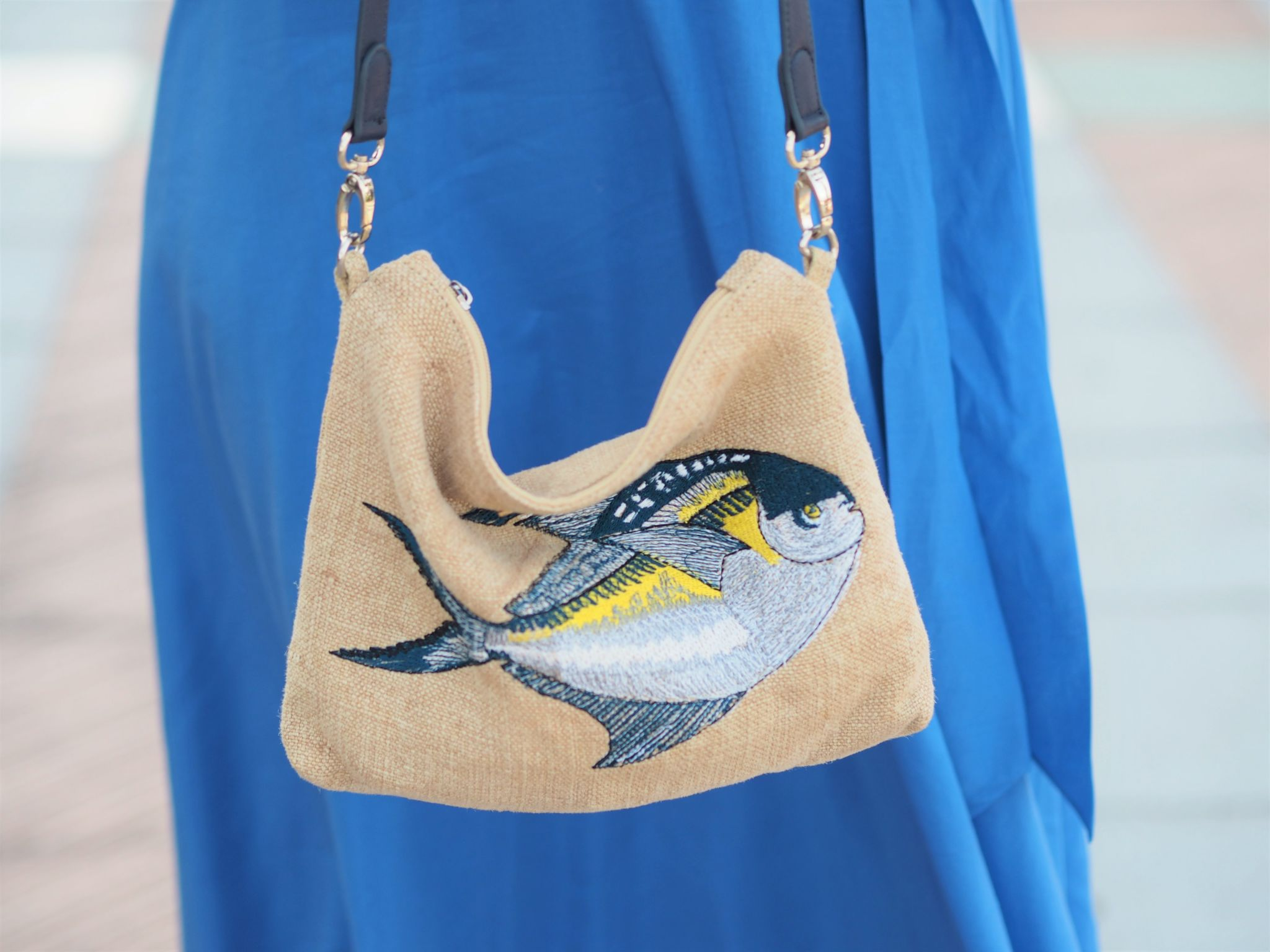 Louella Odie pomfret slouchy pouch